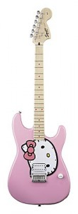 Chitară electrică Squier Hello Kitty