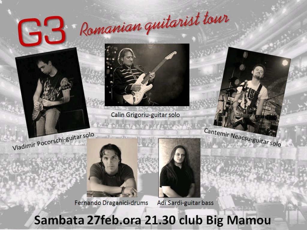 G3 Romania Big Mamou