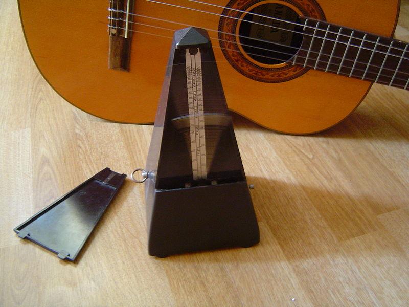 chitara si metronom