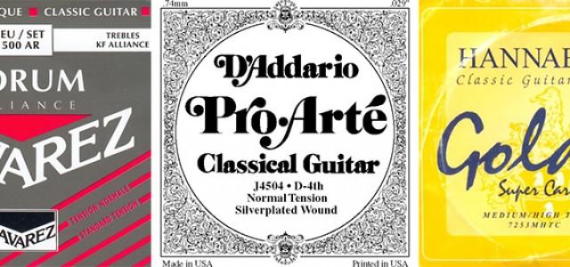 Cum îţi alegi corzile pentru chitara clasică?
