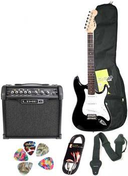 Pachet chitara electrica + amplificator