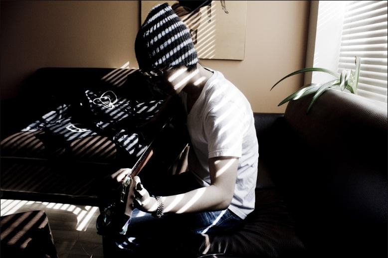 Studiu la chitara
