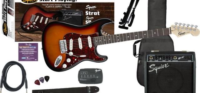 Prima mea chitară electrică – pachete pentru începători