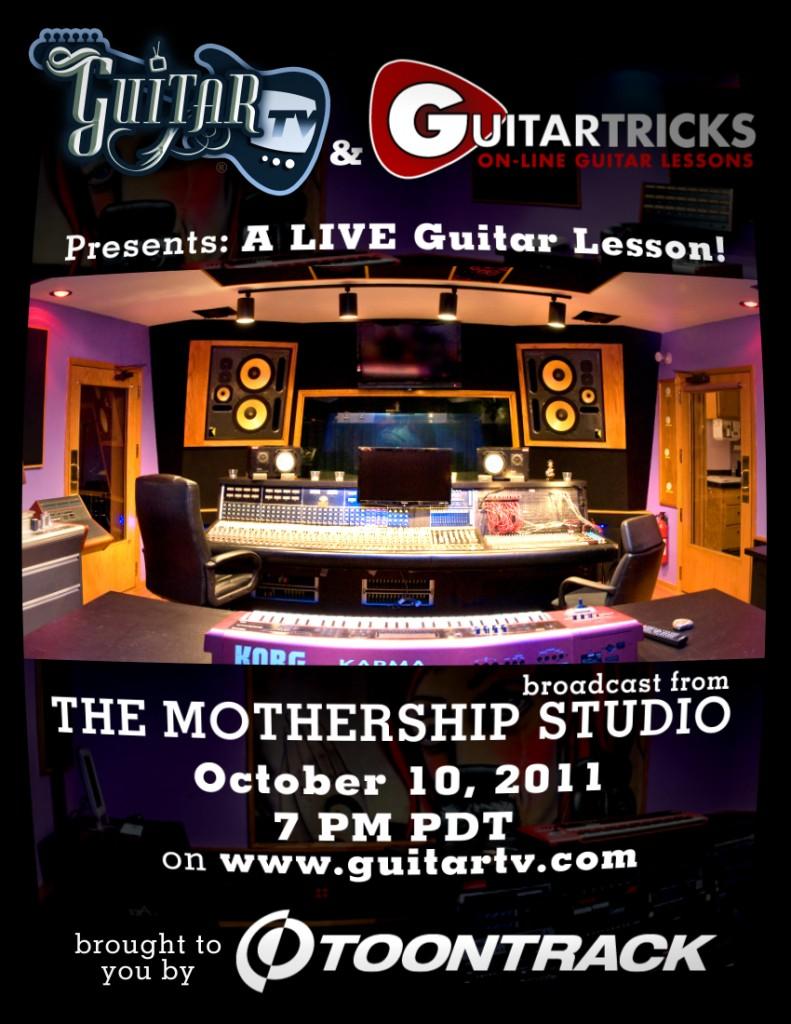 Lectie de chitara pe GuitarTV.com